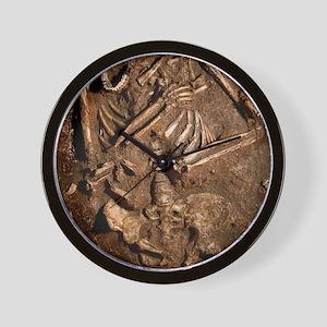Neanderthal skeleton, Kebara Cave, Isra Wall Clock