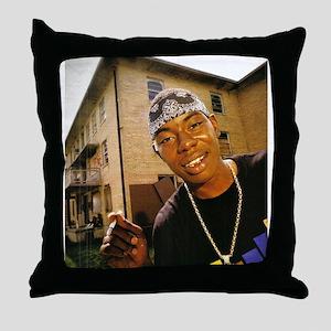 Soulja Slim Throw Pillow