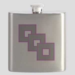 Androgynesexual Pride Flask