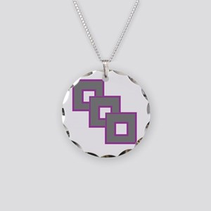Androgynesexual Pride Necklace Circle Charm