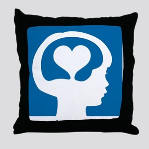 Conscious Discipline stacked logo - b Throw Pillow