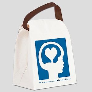 Conscious Discipline stacked logo Canvas Lunch Bag