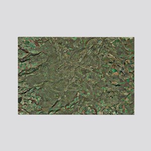 Sheffield, UK, aerial image Rectangle Magnet