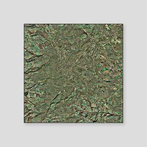 "Sheffield, UK, aerial image Square Sticker 3"" x 3"""