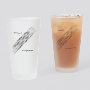 Fast Enough Drinking Glass