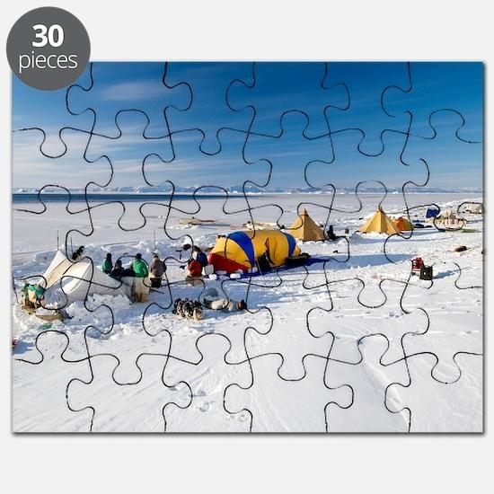 Seal hunting base camp, Greenland Puzzle