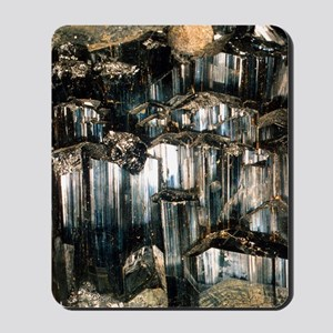 Schorl mineral Mousepad