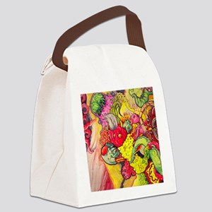 wallet color bash Canvas Lunch Bag