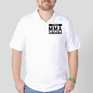 Buy Legalize MMA Golf Shirt