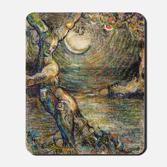 The Grove (Blue) - Card Mousepad