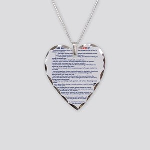 YOU MIGHT BE AN RV-ER Necklace Heart Charm