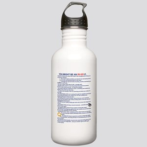 YOU MIGHT BE AN RV-ER Stainless Water Bottle 1.0L