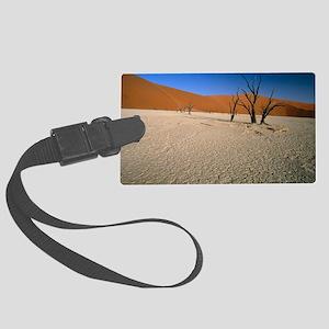 Sand dunes Large Luggage Tag