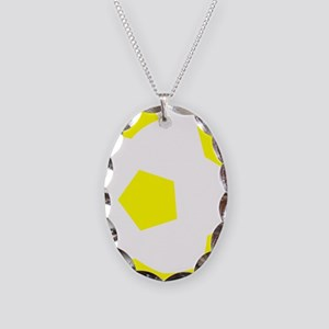 Soccer Sweden Necklace Oval Charm