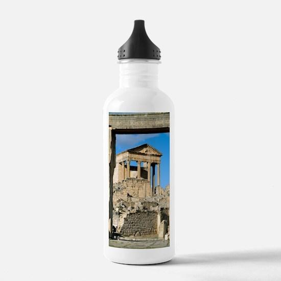 Roman capitol at Dougg Water Bottle