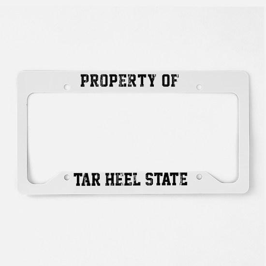 North Carolina, Tar Heel Stat License Plate Holder