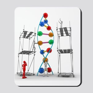 DNA construction, artwork Mousepad