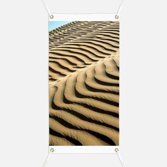 Rippled sand dunes Banner