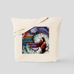 Rhyolitic geode Tote Bag