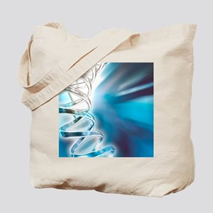 DNA molecule, artwork Tote Bag
