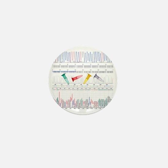 DNA analysis Mini Button