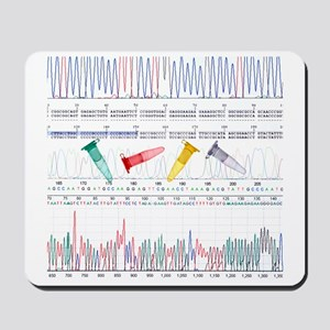 DNA analysis Mousepad