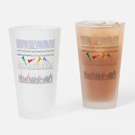 DNA analysis Drinking Glass