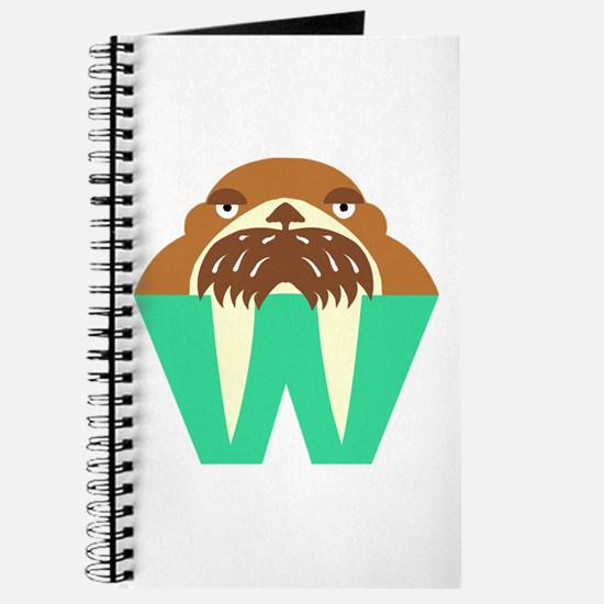 W is for Walrus Journal