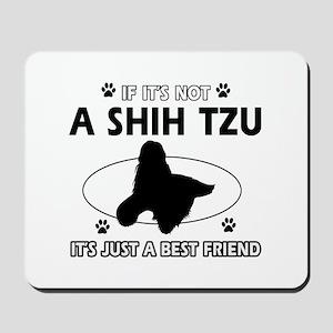 SHIH TZU designs Mousepad