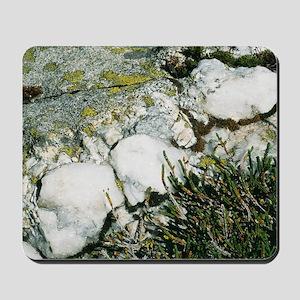 Quartzite rocks Mousepad