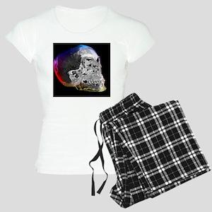 Crystal skull, artwork Women's Light Pajamas
