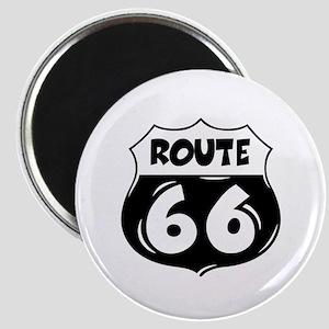 Festive Route 66 Magnet