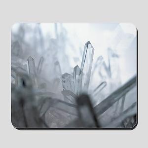 Quartz crystals Mousepad