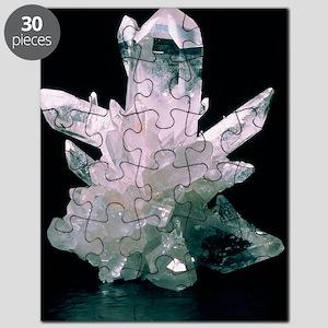 Quartz crystals Puzzle