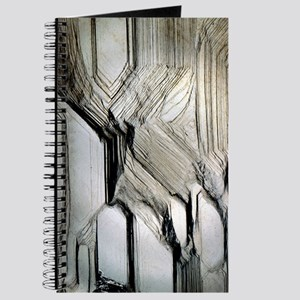 Pyrite crystal surface Journal