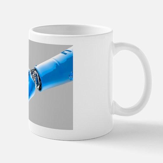 Cybernetic arm, artwork Mug