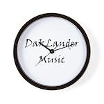 DakLander Music Wall Clock