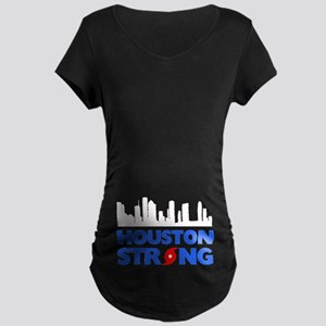 Houston Texas Strong Maternity Dark T-Shirt