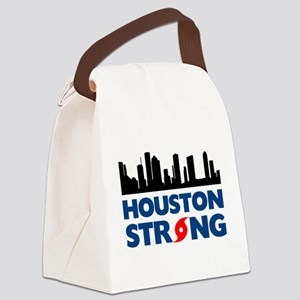 Houston Texas Strong Canvas Lunch Bag