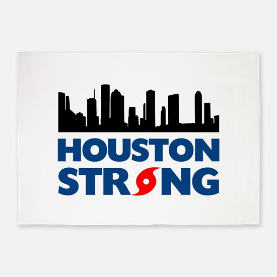 Houston Texas Strong 5'x7'Area Rug
