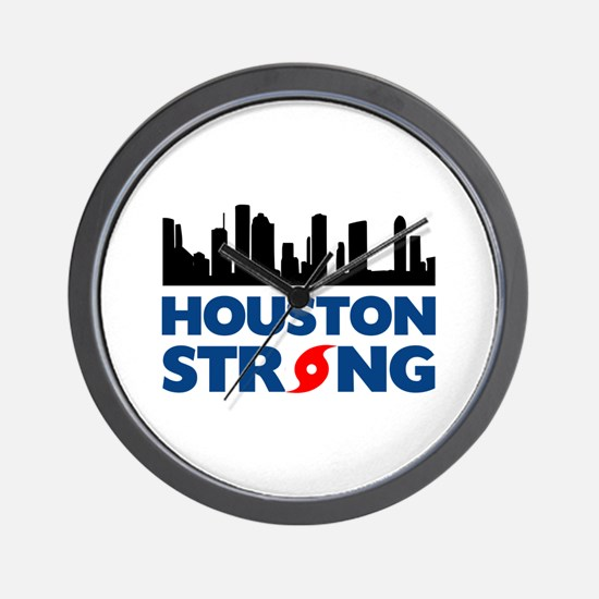 Houston Texas Strong Wall Clock