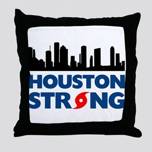Houston Texas Strong Throw Pillow