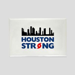 Houston Texas Strong Rectangle Magnet
