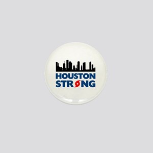 Houston Texas Strong Mini Button