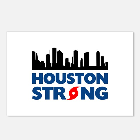 Houston Texas Strong Postcards (Package of 8)