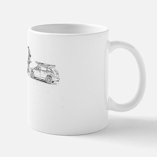 home white Mug