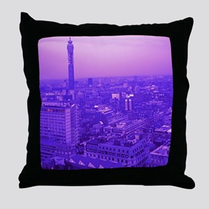 Post Office Tower Throw Pillow