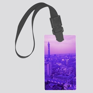 Post Office Tower Large Luggage Tag