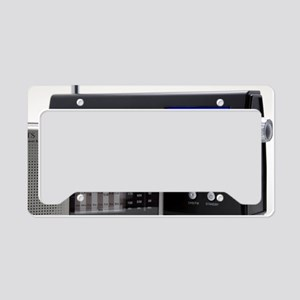 Portable analogue and digital License Plate Holder
