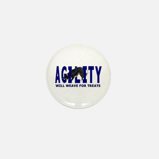 AGILITY: Will weave Mini Button